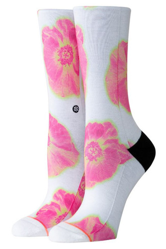 Носки STANCE FOUNDATION WOMEN THERMO FLORAL CREW (White, S)