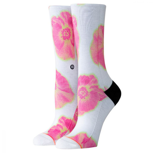 Носки STANCE FOUNDATION WOMEN THERMO FLORAL CREW White фото 4