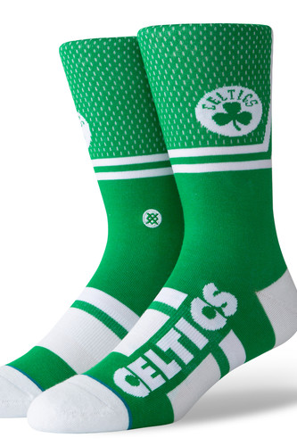 Носки STANCE NBA ARENA CELTICS SHORTCUT (Green, L) носки stance nba arena celtics anklet green one size