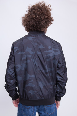 Куртка URBAN CLASSICS Light Camo Bomber Jacket Dark Camo фото 2