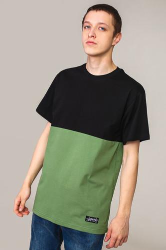 Футболка ANTEATER 407 (Черный/Хаки, S) футболка anteater 277 разноцветный xs