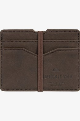 Кардхолдер QUIKSILVER Floker CHOCOLATE BROWN (csd0) фото