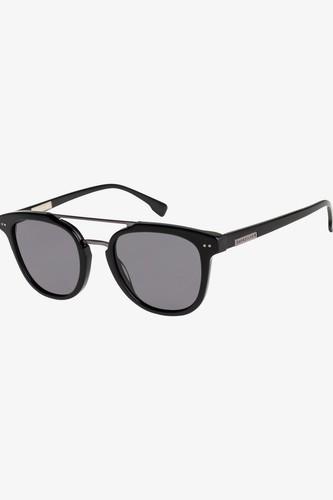 Солнцезащитные очки QUIKSILVER Baltimore (SHINY BLACK-GUN/GREY (xkss)) очки солнцезащитные quiksilver quiksilver qu192dmegtq2