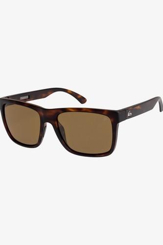 Солнцезащитные очки QUIKSILVER Charger (MATTE TORTOISE/ BROWN POLARIZE (xcnc)) очки солнцезащитные quiksilver quiksilver qu192dmegtq2
