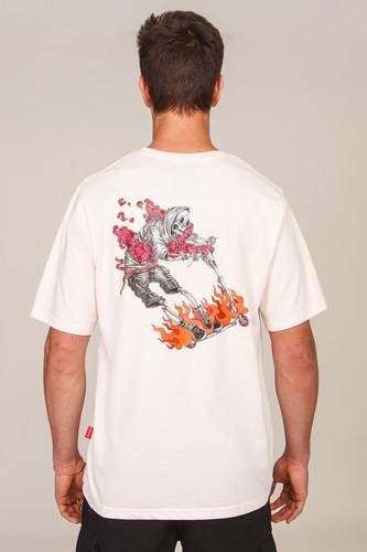 Футболка SKILLS Kickscooter Rider (Pink Sand, S)
