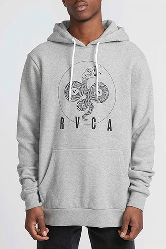 Толстовка RVCA Serpant Curved Hoodi (1669, S) rvca men s that ll do oxford shirt