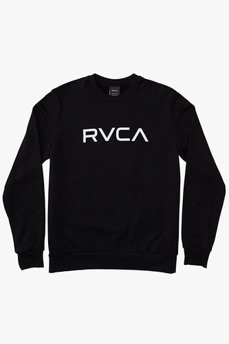 Толстовка RVCA Big Rvca Creaw (Black 19, S) rvca men s that ll do oxford shirt