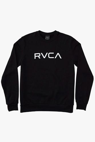 Толстовка RVCA Big Rvca Creaw (Black 19, L) футболка rvca rvca rv002emeyri1