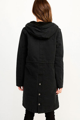 Куртка RVCA Highlands Parka Black 19 фото 2