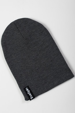 Шапка TRUESPIN Basic Beanie Heather Grey фото