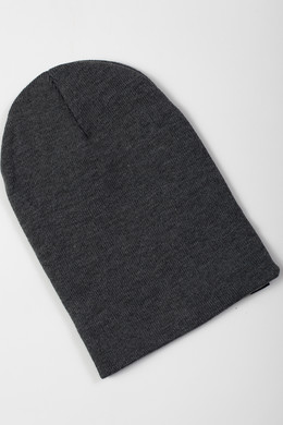 Шапка TRUESPIN Basic Beanie Heather Grey фото 2