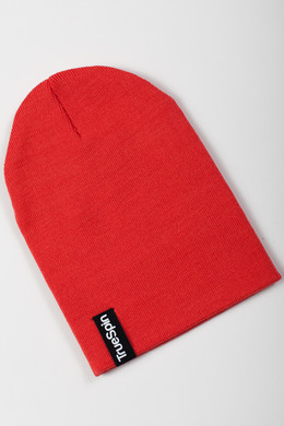 Шапка TRUESPIN Basic Beanie Red фото