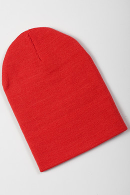 Шапка TRUESPIN Basic Beanie Red фото 2