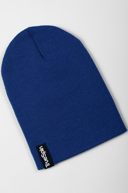 Шапка TRUESPIN Basic Beanie Royal Blue фото