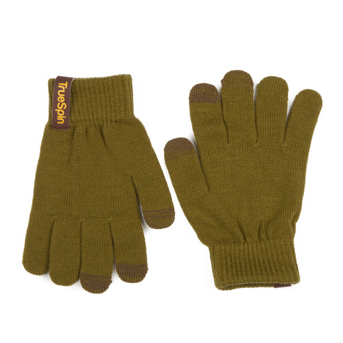 Перчатки TRUESPIN Touch Gloves Olive-Green фото 5