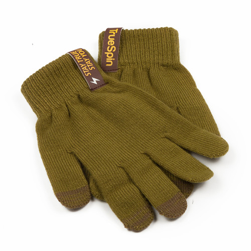 Перчатки TRUESPIN Touch Gloves Olive-Green фото 6
