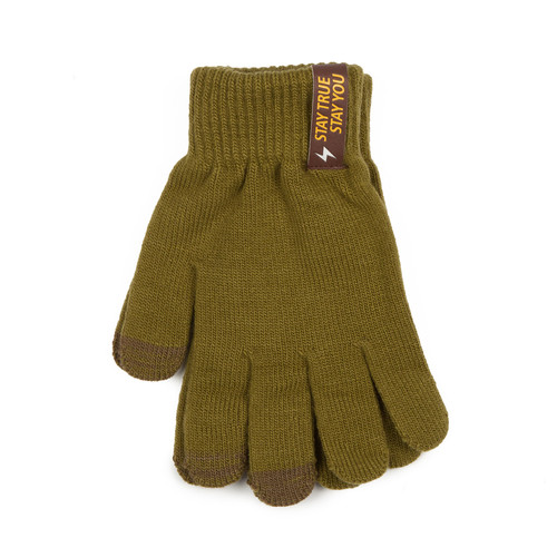 Перчатки TRUESPIN Touch Gloves Olive-Green фото 7