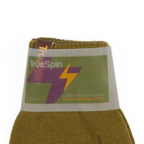Перчатки TRUESPIN Touch Gloves Olive-Green фото 8