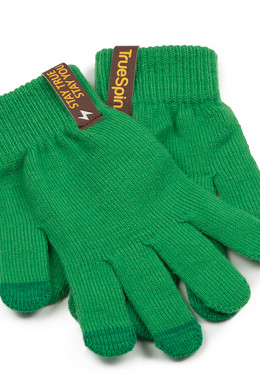 Перчатки TRUESPIN Touch Gloves Green фото 2