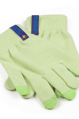 Перчатки TRUESPIN Touch Gloves Light Green фото 2