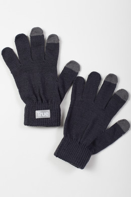 Перчатки TRUESPIN Touch Gloves FW19 Dark Grey фото