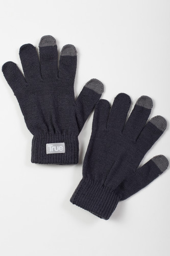 Перчатки TRUESPIN Touch Gloves FW19 Dark Grey фото 4