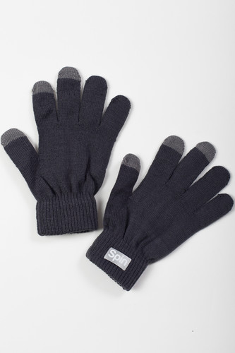 Перчатки TRUESPIN Touch Gloves FW19 Dark Grey фото 5