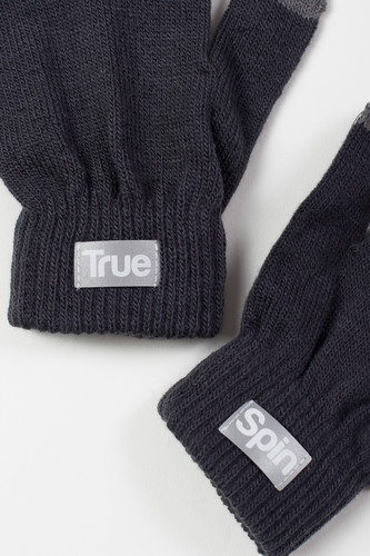 Перчатки TRUESPIN Touch Gloves FW19 Dark Grey фото 6