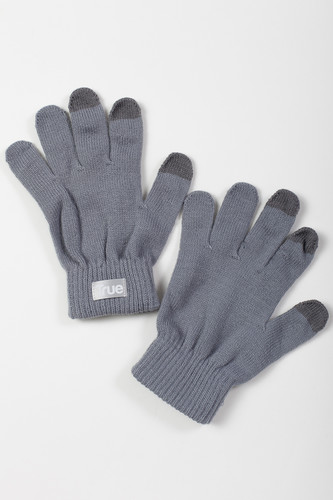 Перчатки TRUESPIN Touch Gloves FW19 Light Grey фото 4