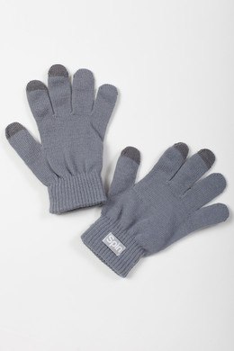 Перчатки TRUESPIN Touch Gloves FW19 Light Grey фото 2