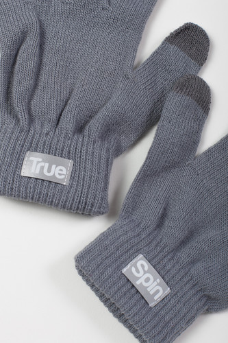 Перчатки TRUESPIN Touch Gloves FW19 Light Grey фото 6