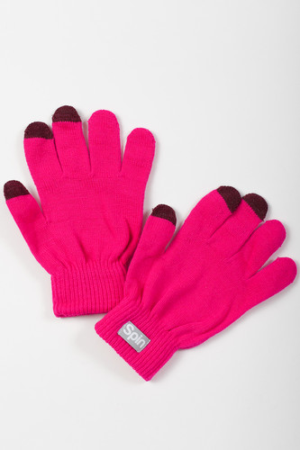 Перчатки TRUESPIN Touch Gloves FW19 Pink фото 4