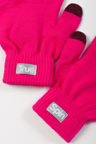 Перчатки TRUESPIN Touch Gloves FW19 Pink фото 6