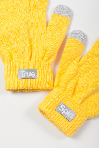 Перчатки TRUESPIN Touch Gloves FW19 Yellow фото 6