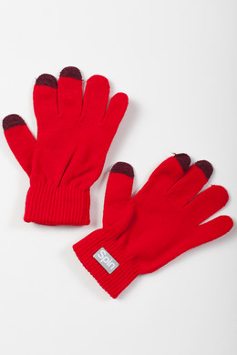 Перчатки TRUESPIN Touch Gloves FW19 Red фото