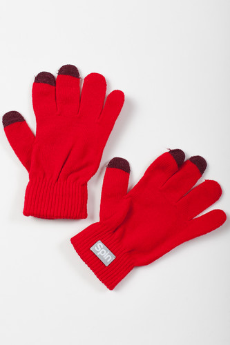 Перчатки TRUESPIN Touch Gloves FW19 Red фото 3