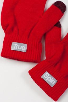 Перчатки TRUESPIN Touch Gloves FW19 Red фото 2