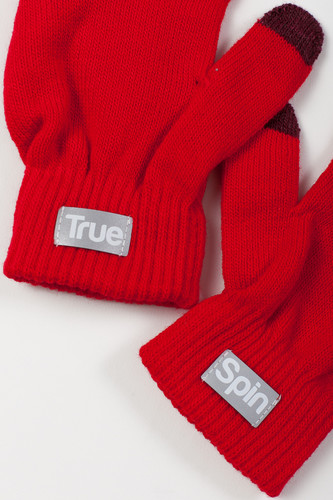 Перчатки TRUESPIN Touch Gloves FW19 Red фото 4
