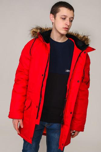 Куртка ANTEATER Alaska (Red, M) 12storeez варежки с меховой опушкой бежевый