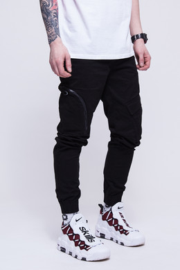 Брюки SKILLS Asymmetric Pants Black фото