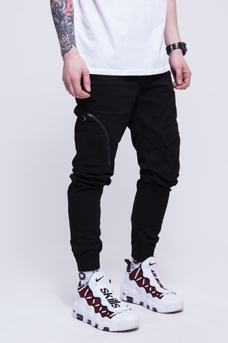 Брюки SKILLS Asymmetric Pants Black фото 7