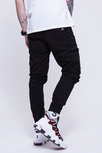Брюки SKILLS Asymmetric Pants Black фото 8