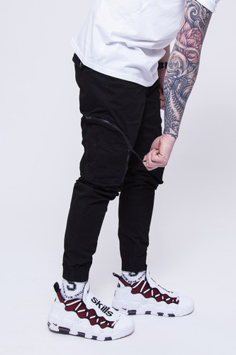 Брюки SKILLS Asymmetric Pants Black фото 10