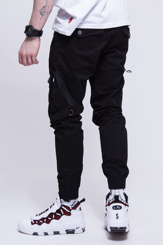 Брюки SKILLS Asymmetric Pants Black фото 12