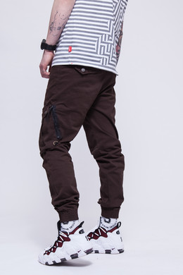 Брюки SKILLS Asymmetric Pants Brown фото 2