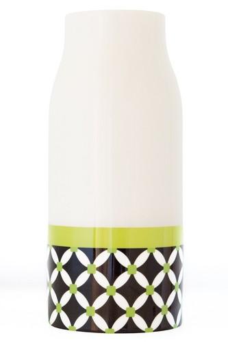 Ваза фарфоровая elise (Белый) ваза яркий штрих sh015 белый