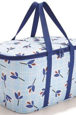 Термосумка coolerbag leaves blue Голубой фото