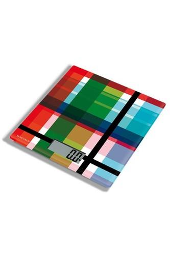 Весы кухонные zigzag (Разноцветный)