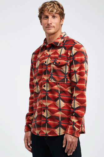 Рубашка BILLABONG FURNACE FLANNEL (3733, XS) худи billabong billabong bi009emefex9