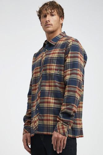 Рубашка BILLABONG COASTLINE LS (21, M) полотенце billabong billabong bi009jmhcoe2